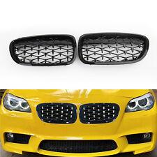 Kidney Grill Grille Black Diamond For BMW F10 F18 528i 535i 5Series 2010-2016