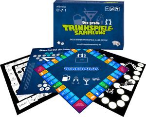 Die große Trinkspielesammlung 20 Spiele Partyspiel Trinkspiel Brettspiel