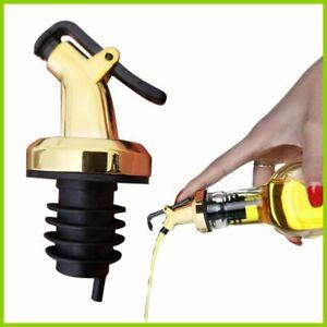 1pcs Durable Practical Olive Oil Sprayer Liquor Dispenser Wine Pourers Flip Top