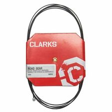 Bicycle MTB/Mt Bike Cable Gear Clarks Wire 1.2 x 2275mm Stainless Steel W/Teflon