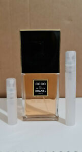 Chanel COCO EDT 5ml, 10ml Sample Brand New spray in bottle, FREE DELIVERY