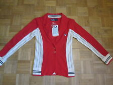 BNWT - FILA VINTAGE Womens Chinese Red Matchday Blazer - Size 8 - XS