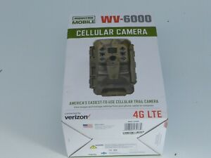 NEW Moultrie WV-6000 Mobile Cellular Verizon 4G LTE Integrated Game Trail Camera