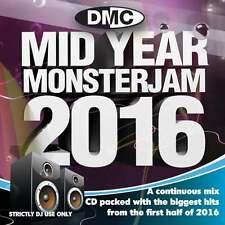 DMC Mid Year Monsterjam 2016 Megamix DJ CD