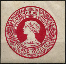 CHILE, OFFICIAL SEAL, RED, YEAR 1902, MNH