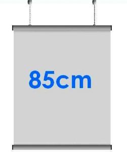 5x Pairs 85cm A0 Aluminium Poster Hanger Gripper Hanging Rail Pair
