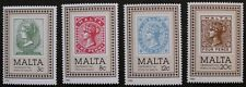 Centenary of Malta Post Office stamps, 1985, Malta, SG ref: 751-754, MNH