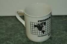 Vintage Federal Express Courier route truck Coffee Mug
