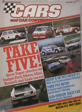 Cars & Car Conversions July 1986 featuring Mazda 323 4wd Turbo
