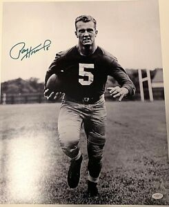 Paul Hornung Signed 16x20 Photo Green Bay Packers JSA D90457