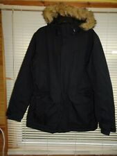 Peter Storm Black Padded Waterproof Hooded Coat *Size M* Excellent Condition