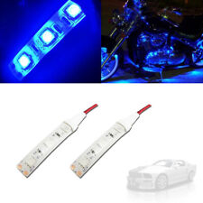 Ultra Blue LED 5050-SMD Strip Lights Interior Exterior For Car Motorcycles DIY