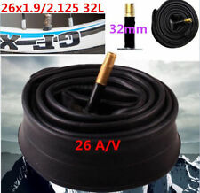 DZ1371* Bicycle Cycle bike 26 Inch Inner Tube 26x1.9/2.125 Schrader Valve 32mm