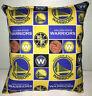 Warriors Pillow NBA Golden State Warriors Pillow Handmade in USA