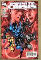 Infinite Crisis #5-2006 nm 9.4 standard cover 1st Jamie Reyes as Blue Beetle