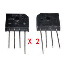 2Stk. Neu KBU1010 KBU-1010 10A 1000V Bridge Rectifier Brückengleichrichter