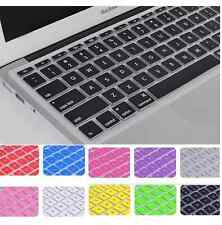 "UK EU case Keyboard Skin Cover Film for Apple Macbook Air Pro 13"" 15"" 17"""