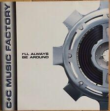 "C+C Music Factory - I'll Always Be Around 12"" Vinyl Old Skool House 1995 EX+"