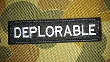 NEW MAKE AMERICA GREAT AGAIN RED TACTICAL MORALE AIRSOFT PATCH AUSTRALIAN SELLER
