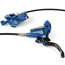 Hope Tech 3 X2 Blue Left / Front with Black Hose Brake w/ Floating Rotor New
