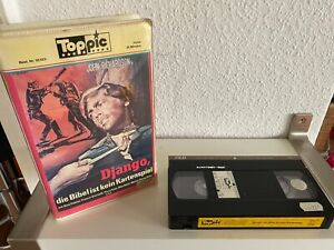 Django, Die Bibel Ist Kein Kartenspiel, VHS Toppic, Erstauflage, Italowestern