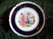 Vintage Germany Plate, Cupid And Grecian Gods Or Roman Gods