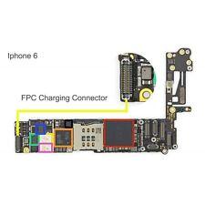 CHARGING DOCK FPC Connector pile pour Apple iPhone 6 High Temp facile à souder de rechange