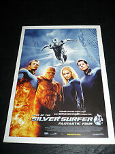 FANTASTIC 4 - RISE OF THE SILVER SURFER, film card [Ioan Gruffudd, Jessica Alba]