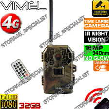 Wireless Security Camera 4G 3G Home Farm Scout Trail Hunting Night Vision