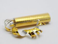 36 Gold Foil New Years Eve Serpentine confetti rolls (2 rolls of 18)