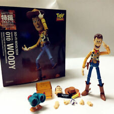 "6"" Kaiyodo Revoltech 010 Toy Story Woody Action Figure Collection Toy Xmas Gift"