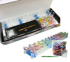 Colorido Gomas Para Pulseras Brazalete Kit Con Enganches & 600 Varios Colores