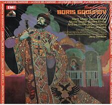 Mussorgsky: Boris Godunov / Semkow, Talvela, Gedda - LP Emi