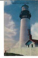 CA-490 OR, Oregon Coast, Yaquina Head Lighthouse Chrome Postcard