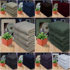 Luxurious 4 Piece Bath Towel Set 100% Combed Cotton for Bathroom Gym Hotel Spa !