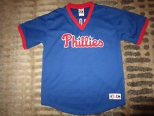 Jim Thome #25 Philadelphia Phillies Majestic MLB Jersey Youth LG 14-16 child
