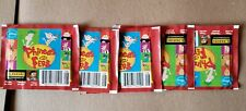 Panini DISNEY Phineas & Ferb Lot of 5 Packs Stickers