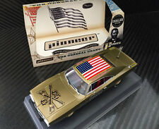Pioneer Dodge Charger The General Grant Gold Dealer Special Slot Car 1/32