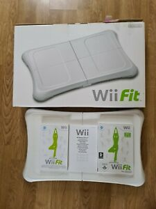 Nintendo Wii Fit Balance Board, Game, Rechargeable Battery Pack - Boxed