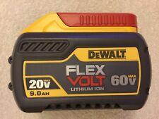 New Dewalt DCB609 Flexvolt 20V / 60V Max 9.0Ah Lithium Ion Battery Li-ion 2020