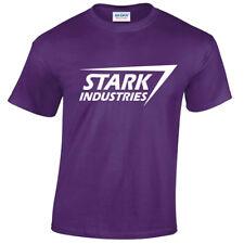 infantil Stark Industries Camiseta Tony MARVEL ARC película cómic ESCUDO Geek