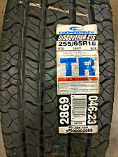 1 New 255 65 18 Cooper Discoverer CTS Tire