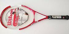 "Wilson NCODE NFUSION Oversize Tennis Racquet - 110 - Grip 4 5/8"" READ  $279.99"