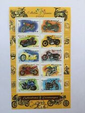 Bloc timbres France 2002 neuf** YT BF51. Motos