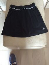 Adidas sports skirt size 10 - Tennis - Black