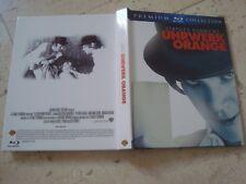 A CLOCKWORK ORANGE 2Disc Blu-Ray Digibook OOP Ltd Ed slipcover Stanley Kubrick