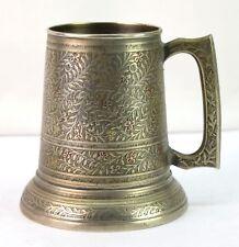 Vintage Indien beer jar / kitchen mug Gift beer Beautiful home decor. G66-464 US