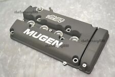 Mugen Style Rocker Valve Cover Gun Metal Gray Grey Civic B16 B17 B18 Vtec GSR