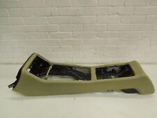 Audi A8 D3 Torrone Beige Cream Leather Centre Console