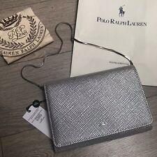 BNWT Gorgeous RALPH LAUREN Silver CHAIN Shoulder CLUTCH Bag RRP £170 100%Genuine